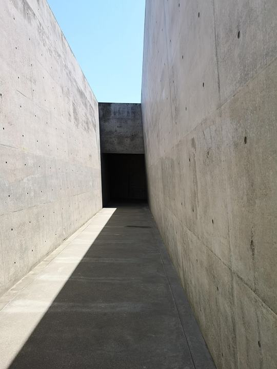 chichu06 Naoshima-地中美術館 藝術直島 安藤忠雄大作 建築美展覽有深度