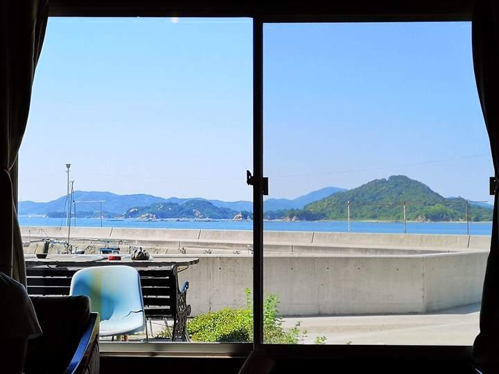 konichiwa08 Naoshima-Cafe Konichiwa直島本村港旁 可愛海景咖啡館