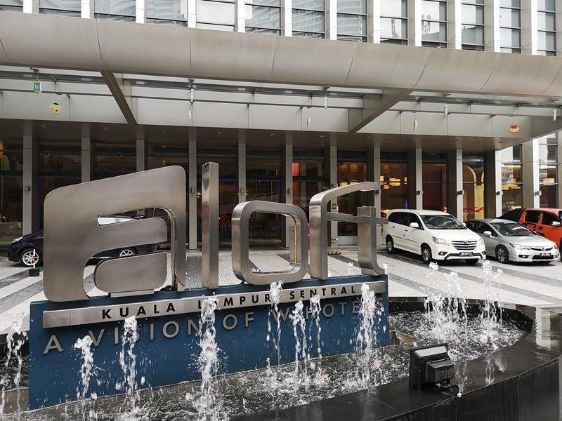 aloftklsentral01 Kuala Lumpur-Aloft吉隆坡 Sentral KL直結 輕鬆的氛圍方便的環境