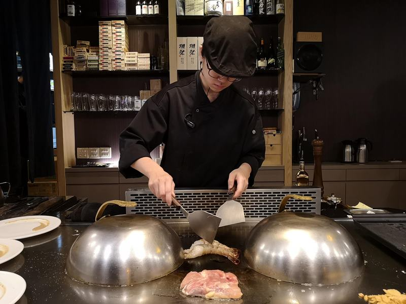 santei18 中壢-三鐵鐵板燒 中原隱藏版需預約鐵板燒 食材新鮮好吃