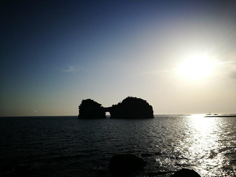 takashima3102 Shirahama-和歌山円月島 欣賞白濱最迷人的夕陽