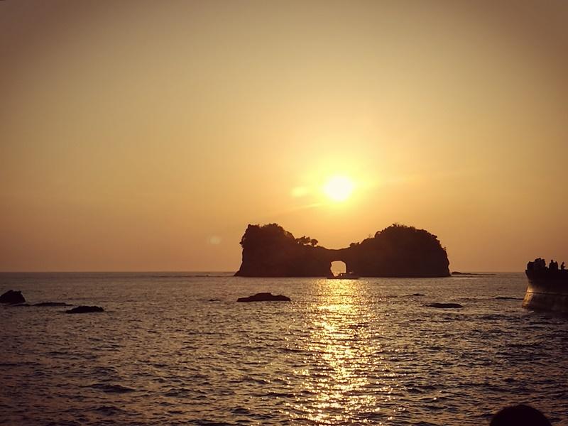 takashima3110 Shirahama-和歌山円月島 欣賞白濱最迷人的夕陽