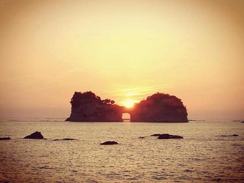 takashima3113 Shirahama-和歌山円月島 欣賞白濱最迷人的夕陽