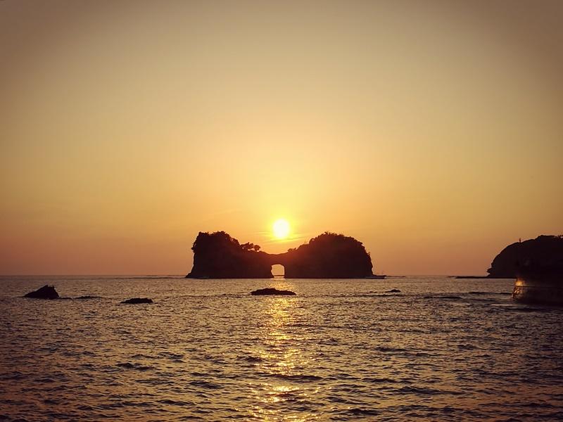 takashima3114 Shirahama-和歌山円月島 欣賞白濱最迷人的夕陽