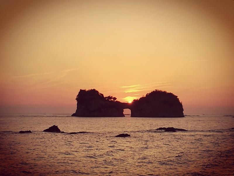 takashima3116 Shirahama-和歌山円月島 欣賞白濱最迷人的夕陽