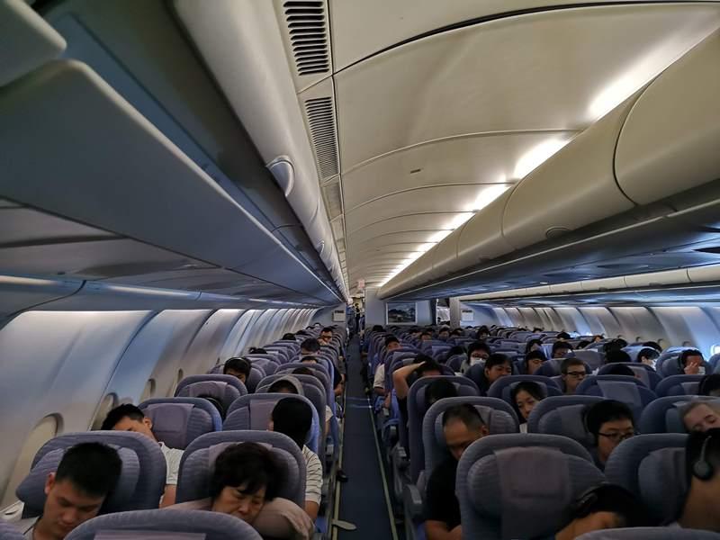 201808HND04 201808松山羽田成田桃園  A350-900首搭乘