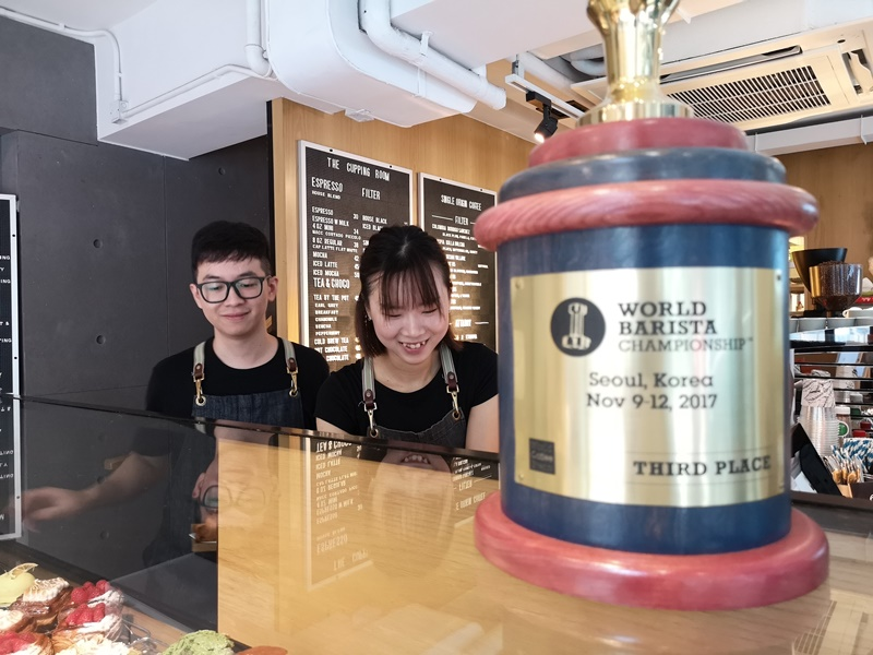 cupping-room07 HK-中環The Cupping Room Central燕麥拿鐵特色 可頌香酥迷人