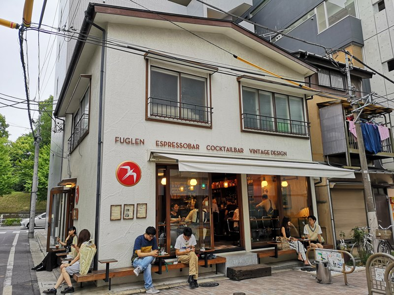 fuglen01 Shibuya-Fuglen Tokyo超好喝的網美咖啡館 澀谷代代木公園旁來自挪威奧斯陸展翅自由飛翔的咖啡館