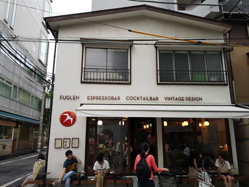 fuglen02 Shibuya-Fuglen Tokyo超好喝的網美咖啡館 澀谷代代木公園旁來自挪威奧斯陸展翅自由飛翔的咖啡館