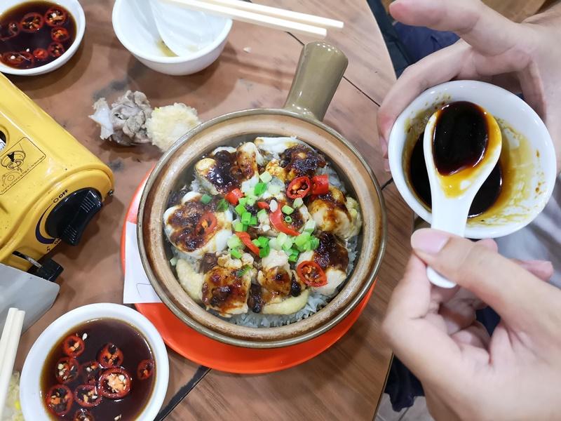 kunchi14 HK-坤記煲仔小菜 豬骨湯滑順濃郁 煲仔飯可口道地 必比登推薦小店