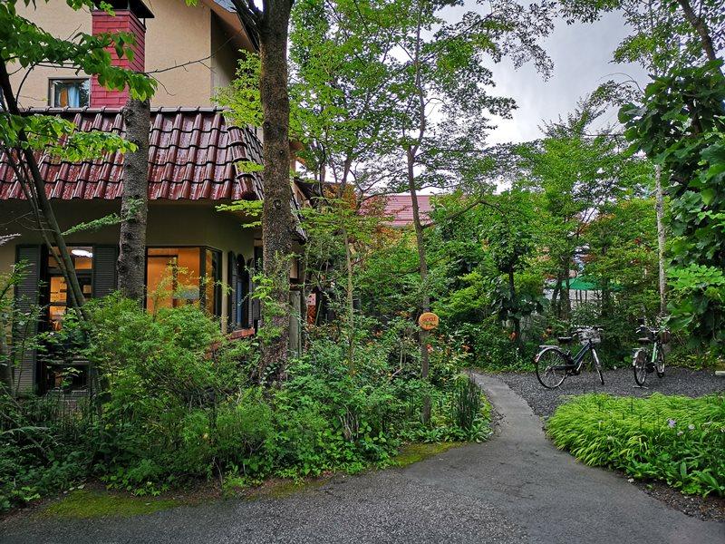 maruyama021 Karuizawa-來喝冠軍咖啡 丸山咖啡輕井澤本店 綠意盎然的林間小屋 環境佳咖啡香