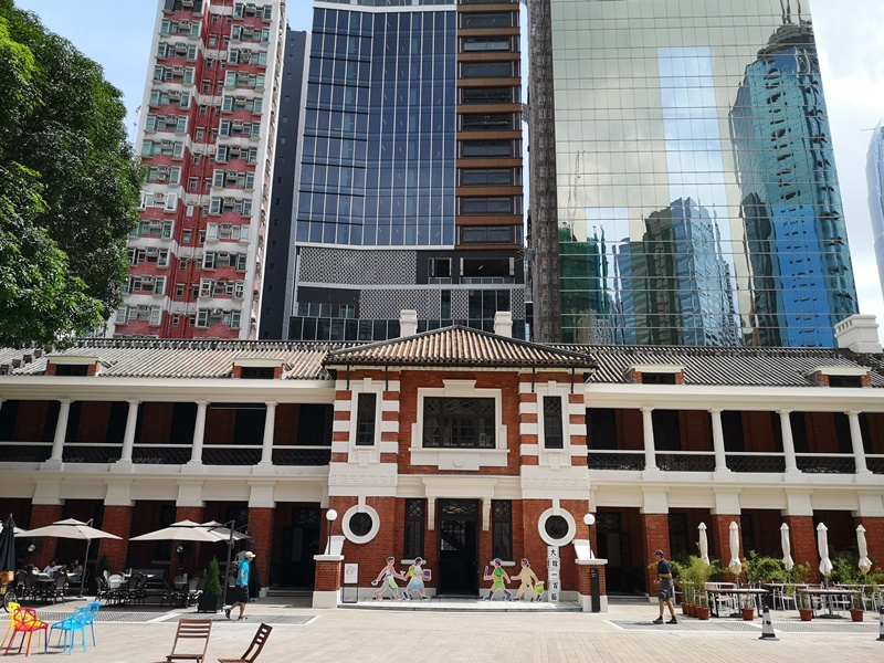 taikwun01 HK-大館 香港古蹟活化 警署監獄進化成觀光景點