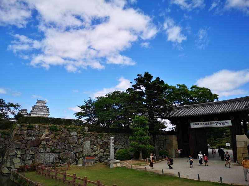 himeji02 Himeji-姬路城 絕美白鷺城 世界文化遺產