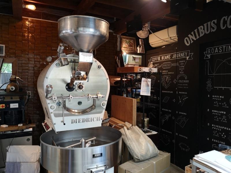 onibuscoffeeee Nakameguro-Onibus Coffee中目黑的老屋咖啡館 伴隨電車聲響的咖啡香