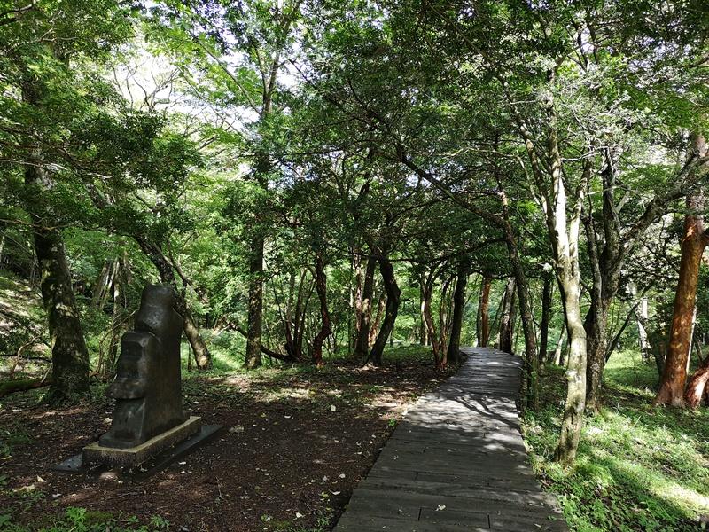 polamuseum27 Hakone-箱根Pola Museum of Art森林中的綠寶石 自然與人文兼具的美術館