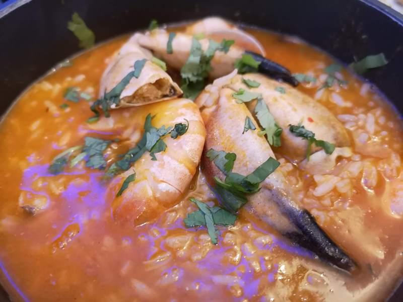 MarisqueiraM11 Lisboa-Marisqueira M里斯本舊城區吃傳統海鮮燉飯