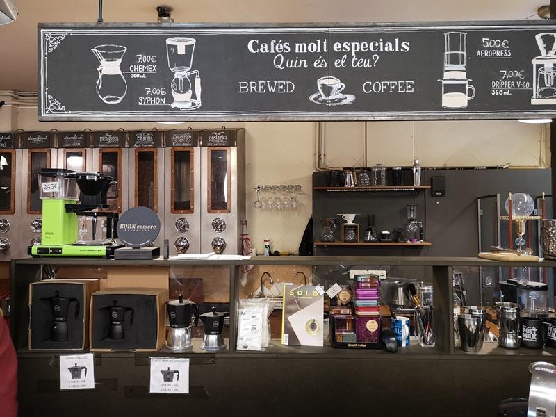 cafeselmagnifico03 Barcelona-Cafes El Magnifico巴塞隆納舊城區小店的一杯拿鐵
