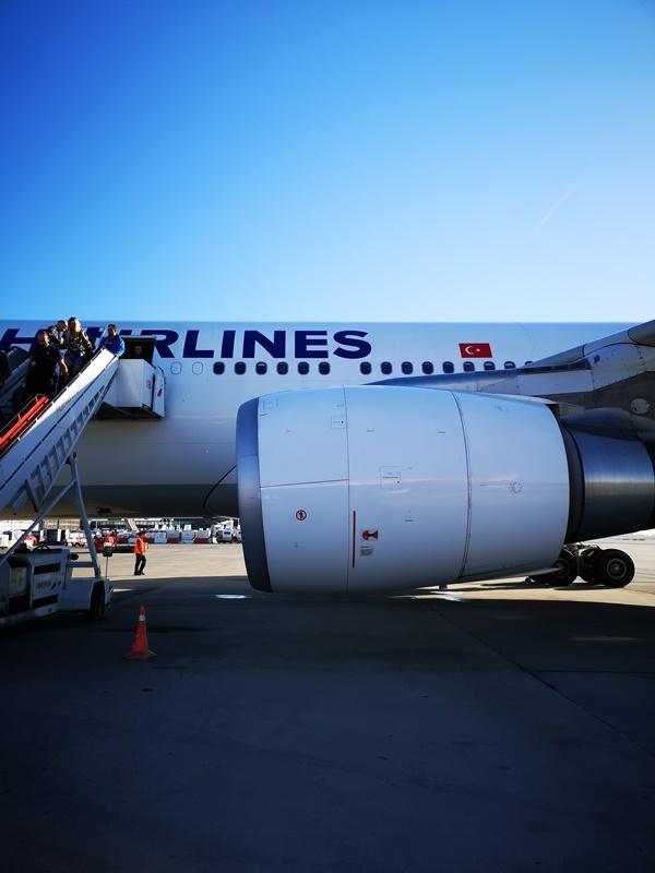 flytk025380101 201810台北伊斯坦堡巴塞隆納 TK025商務艙飛行