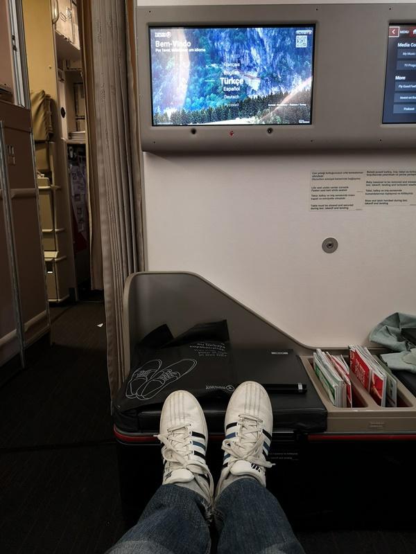 flytk025380111 201810台北伊斯坦堡巴塞隆納 TK025商務艙飛行