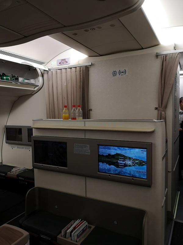 flytk025380152 201810台北伊斯坦堡巴塞隆納 TK025商務艙飛行
