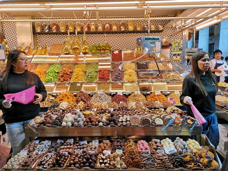 MERCATDE-LABOQUERIA04 Barcelona-Mercat de la Boqueria巴塞隆納傳統市集好吃好拍