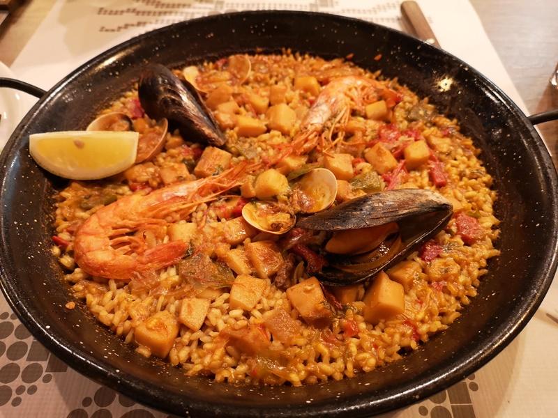 colors7 Barcelona-巴塞隆納Colors來一份海鮮燉飯吧!
