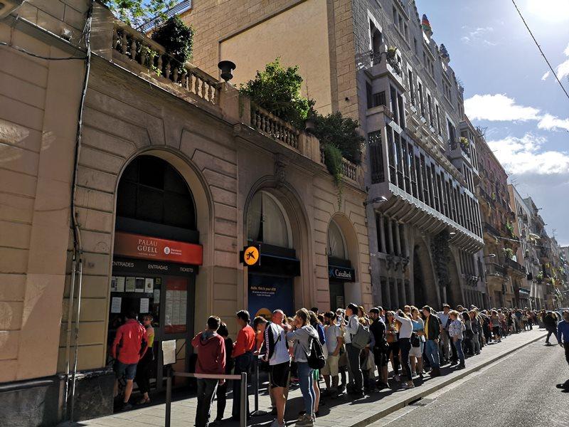 guellhouse02 Barcelona-巴塞隆納世界文化遺產  高第建築奎爾宮