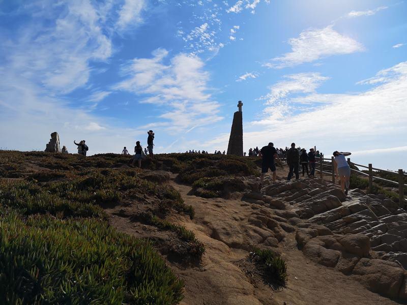 rocacape07 Lisboa-羅卡角Roca Cape歐洲大陸最西端 眺望大西洋 想像航海時代乘風而去的英雄