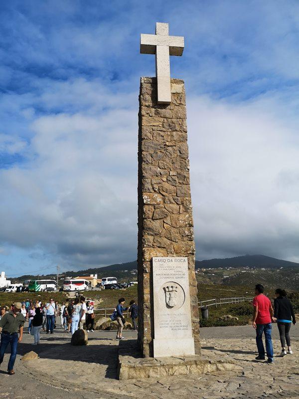 rocacape11 Lisboa-羅卡角Roca Cape歐洲大陸最西端 眺望大西洋 想像航海時代乘風而去的英雄