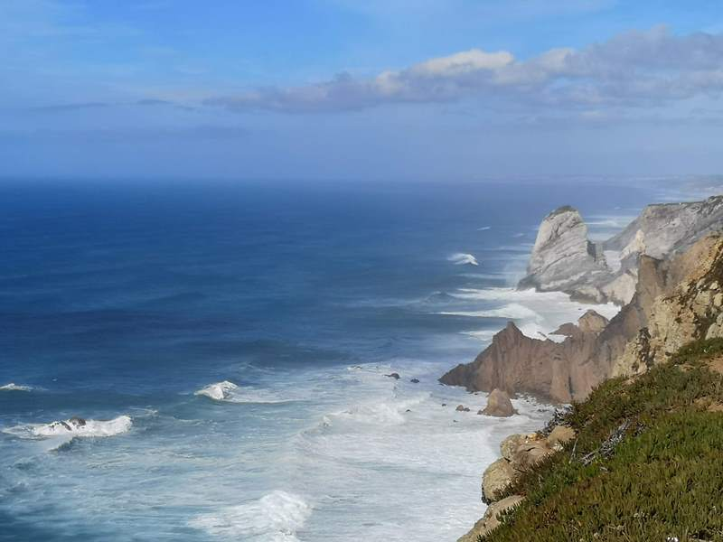 rocacape15 Lisboa-羅卡角Roca Cape歐洲大陸最西端 眺望大西洋 想像航海時代乘風而去的英雄