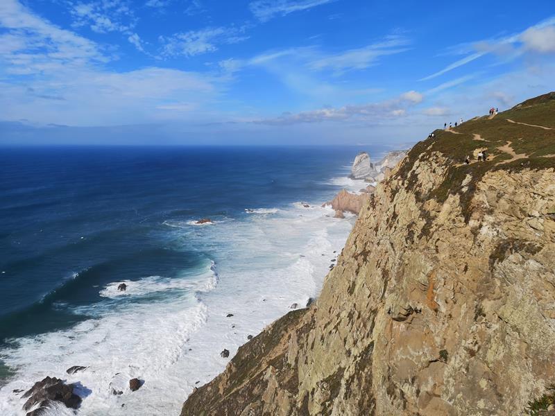 rocacape17 Lisboa-羅卡角Roca Cape歐洲大陸最西端 眺望大西洋 想像航海時代乘風而去的英雄