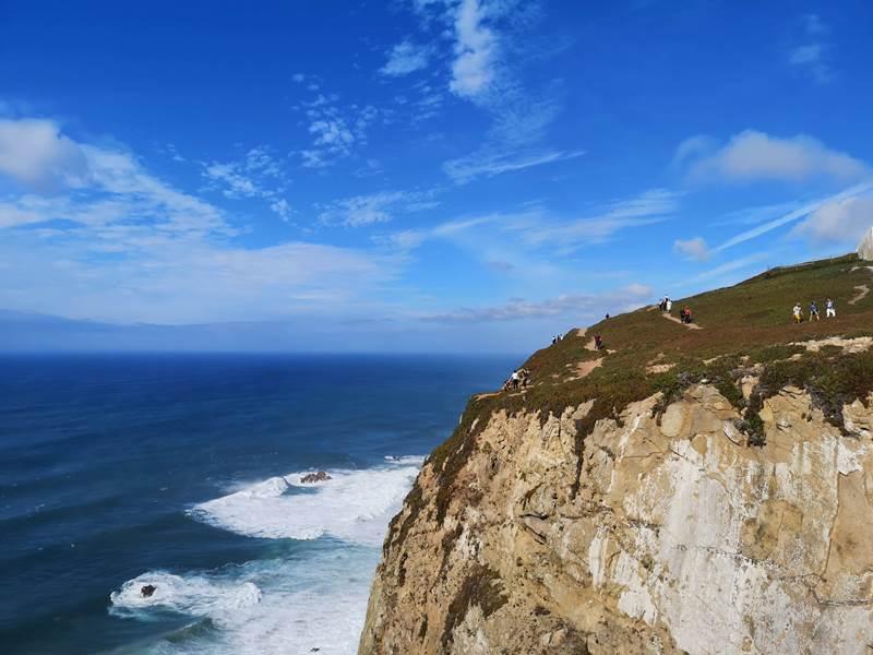 rocacape18 Lisboa-羅卡角Roca Cape歐洲大陸最西端 眺望大西洋 想像航海時代乘風而去的英雄