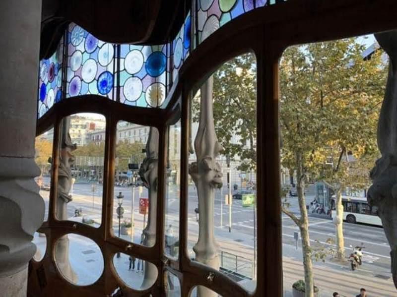 Casa-Batllo011111 Barcelona-巴塞隆納世界文化遺產 高第建築  巴特略之家/文森之家