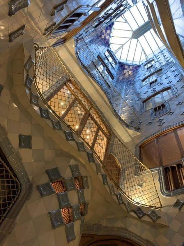Casa-Batllo011113 Barcelona-巴塞隆納世界文化遺產 高第建築  巴特略之家/文森之家