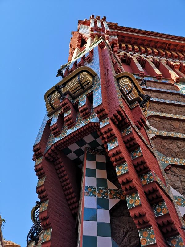 Vicens1113 Barcelona-巴塞隆納世界文化遺產 高第建築  巴特略之家/文森之家