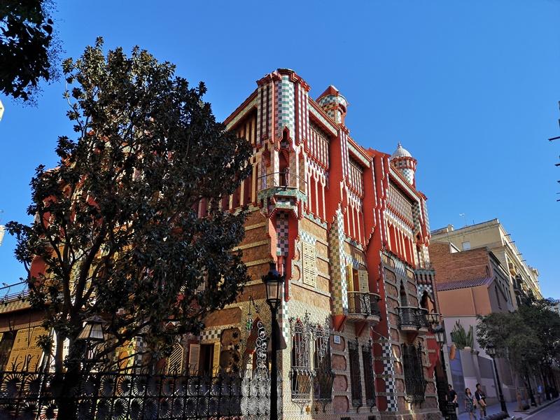 Vicens1115 Barcelona-巴塞隆納世界文化遺產 高第建築  巴特略之家/文森之家
