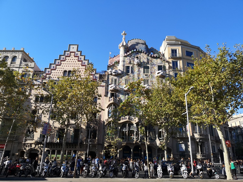 batllo6 Barcelona-巴塞隆納世界文化遺產 高第建築  巴特略之家/文森之家