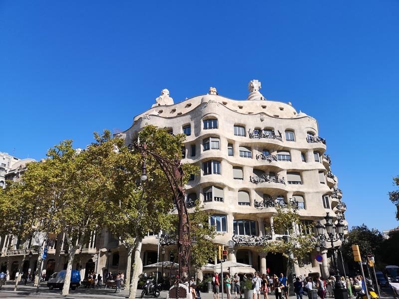 casamila01 Barcelona-巴塞隆納世界文化遺產 高第建築  巴特略之家/文森之家