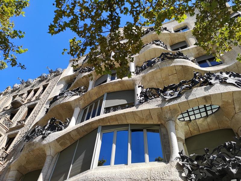 casamila06 Barcelona-巴塞隆納世界文化遺產 高第建築米拉之家 來自外星的設計