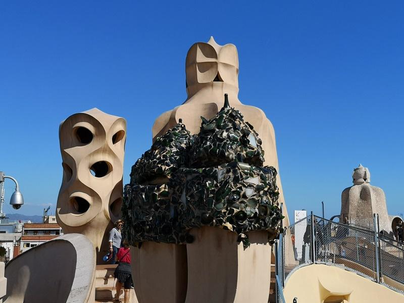 casamila18 Barcelona-巴塞隆納世界文化遺產 高第建築米拉之家 來自外星的設計