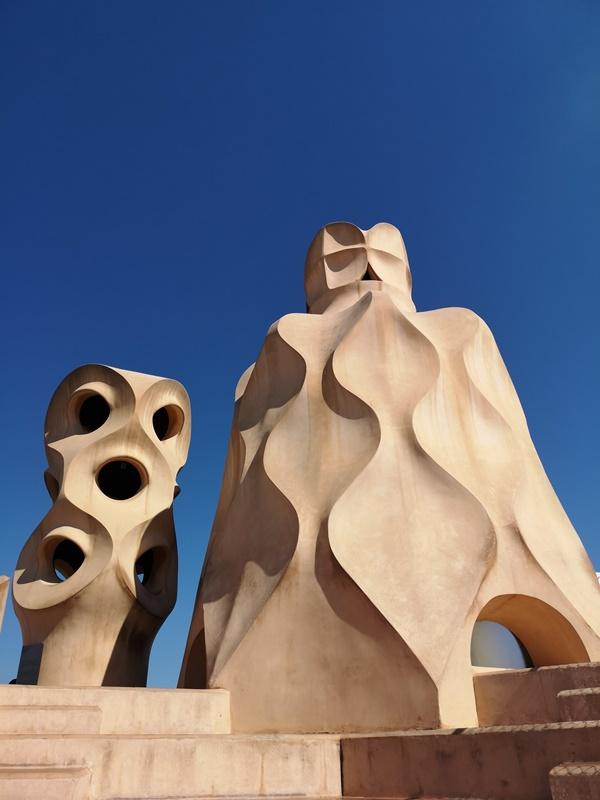 casamila20 Barcelona-巴塞隆納世界文化遺產 高第建築米拉之家 來自外星的設計