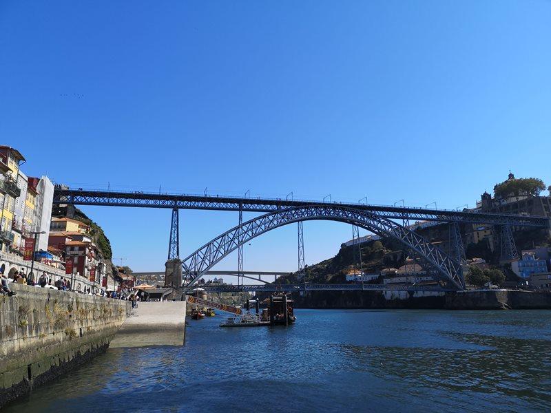 luiz1bridge11 Porto-歐洲第一名的觀光城市波多 Douro河岸風光綺麗 路易一世鐵橋壯觀