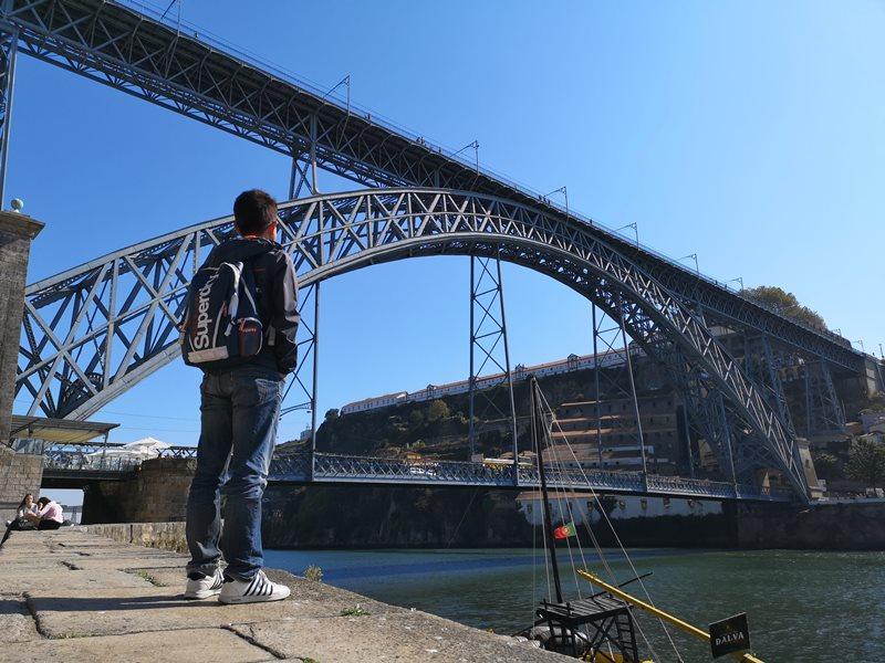 luiz1bridge15 Porto-歐洲第一名的觀光城市波多 Douro河岸風光綺麗 路易一世鐵橋壯觀