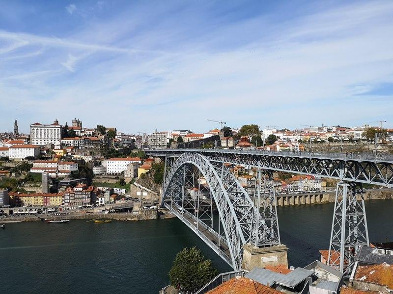 luiz1bridge49 Porto-歐洲第一名的觀光城市波多 Douro河岸風光綺麗 路易一世鐵橋壯觀