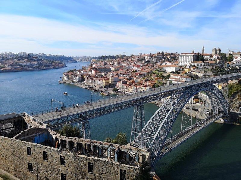 luiz1bridge54 Porto-歐洲第一名的觀光城市波多 Douro河岸風光綺麗 路易一世鐵橋壯觀