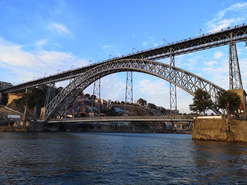 luiz1bridge74 Porto-歐洲第一名的觀光城市波多 Douro河岸風光綺麗 路易一世鐵橋壯觀