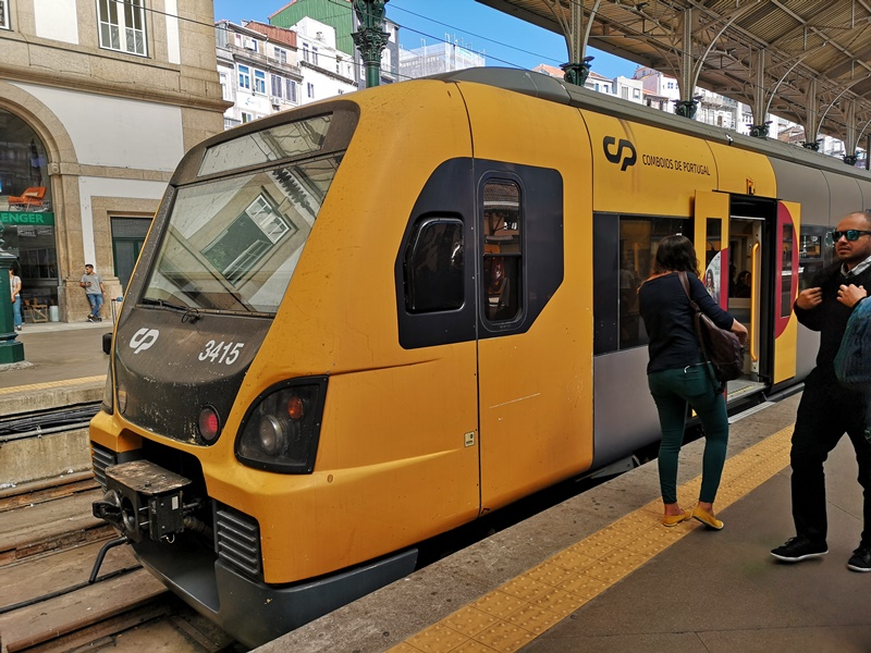 portosanbentotrain10 Porto-波多到里斯本 體驗葡萄牙國鐵頭等艙