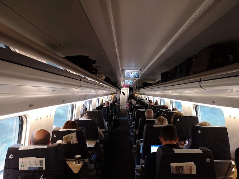 portotrain17 Porto-波多到里斯本 體驗葡萄牙國鐵頭等艙
