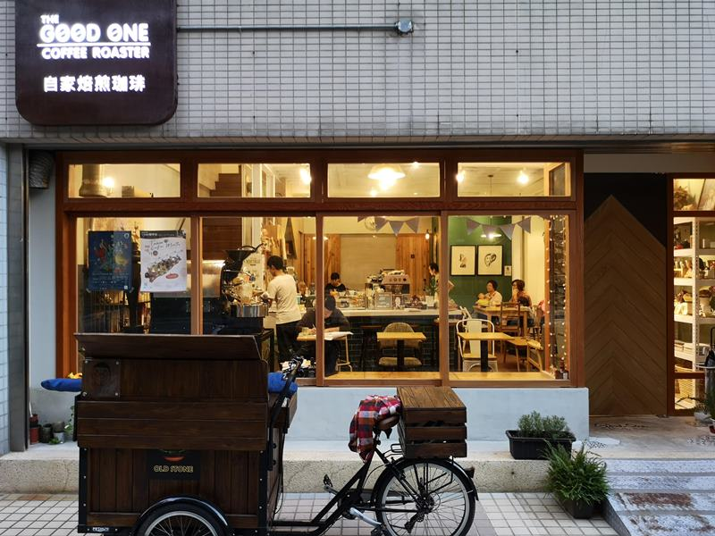 thegoodonecoffee01 桃園-The Good One Coffee Roastery簡潔日式風味咖啡館