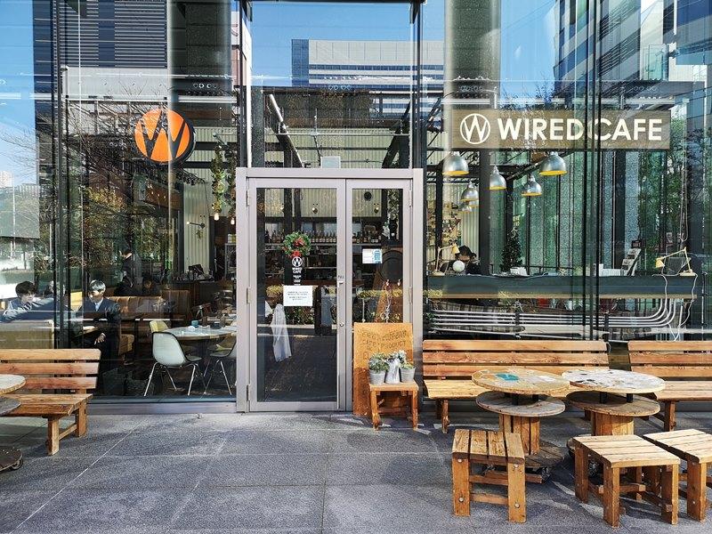 weirdcoffee02 Shinagawa-WIRED CAFE 品川港南口 摩登現代咖啡好美也好吃